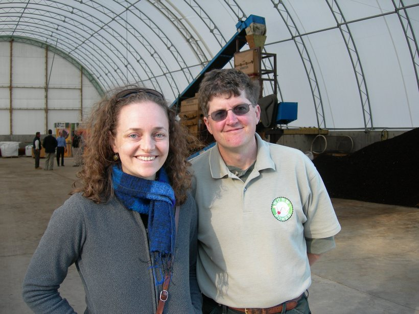 With Tom Herlihy at Worm Power