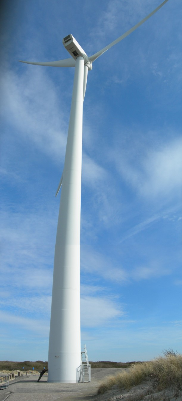 Is it any wonder the Dutch are leaders in modern wind technology? Neeltje Jans, Zeeland province